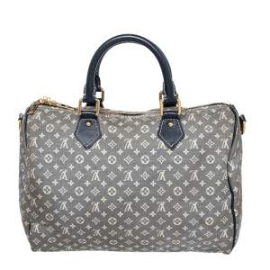 Louis Vuitton Encre Monogram Idylle Canvas Speedy Bandouliere 30 Bag
