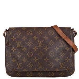 Louis Vuitton Monogram Canvas Musette Tango Short Strap Bag