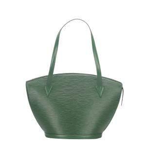 Louis Vuitton Green Epi Leather Saint Jacques GM Long Strap Bag