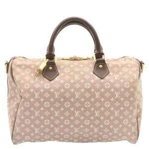 Louis Vuitton Brown Monogram Idylle Canvas Speedy 30 Bag