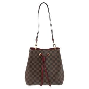 Louis Vuitton Damier Ebene Canvas and Leather NeoNoe Bag