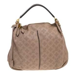 Louis Vuitton Opal Monogram Mahina Leather Selene MM Bag