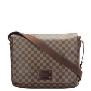 Louis Vuitton Damier Ebene Canvas Brooklyn GM Bag