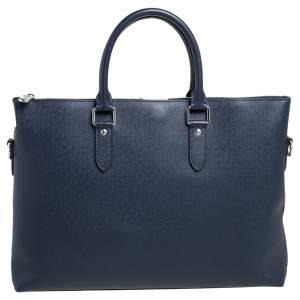 Louis Vuitton Bleu Marine Taiga Leather Anton Soft Briefcase