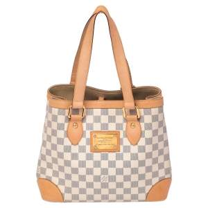 Louis Vuitton Damier Azur Canvas Hampstead PM Bag