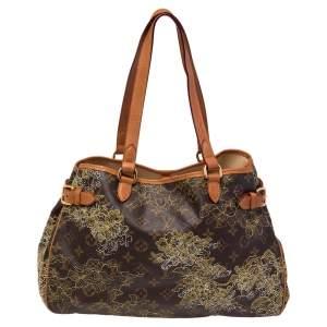 Louis Vuitton Monogram Canvas Limited Edition Dentelle Batignolles Horizontal Bag