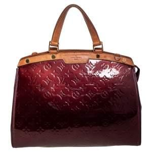 Louis Vuitton Rouge Fauviste Monogram Vernis Brea GM Bag
