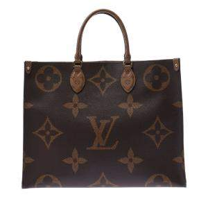 Louis Vuitton Brown Monogram Canvas Onthego GM Tote Bag