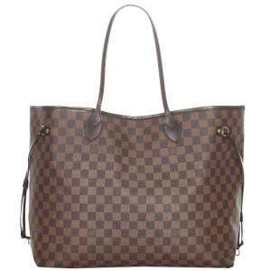 Louis Vuitton Brown Damier Canvas Neverfull GM Shoulder Bag
