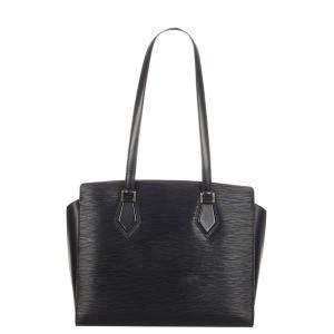 Louis Vuitton Black Epi Leather Dupleix Bag