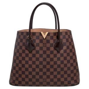 Louis Vuitton Damier Ebene Canvas Kensington Bag