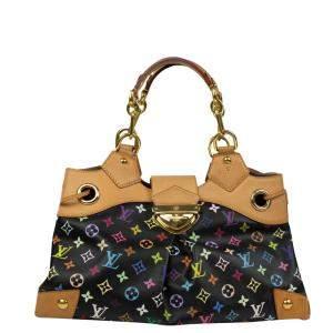 Louis Vuitton Black Monogram Multicolore Ursula Bag