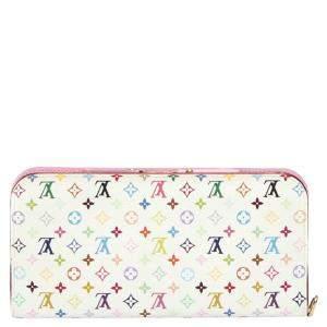 Louis Vuitton White Multicolore Monogram Canvas Pattern Insolite Wallet