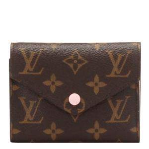 Louis Vuitton Brown Monogram Canvas Victorine Wallet