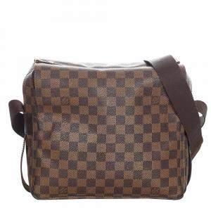Louis Vuitton Brown Damier Canvas Naviglio Messenger Bag
