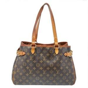 Louis Vuitton Monogram Leather Batignolles Horizontal Bag