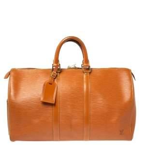 حقيبة لوى فيتون كيبال 45 جلد إيبي ذهبي سيبانغو