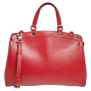 Louis Vuitton Carmine Epi Leather Brea MM Bag