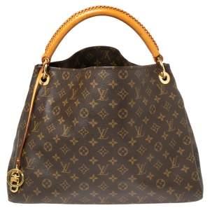 Louis Vuitton Monogram Canvas & Leather Artsy MM Bag