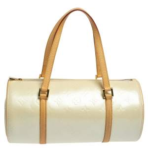 Louis Vuitton Perle Monogram Vernis Bedford Bag