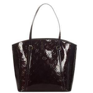 Louis Vuitton Brown Monogram Vernis Avalon MM Bag