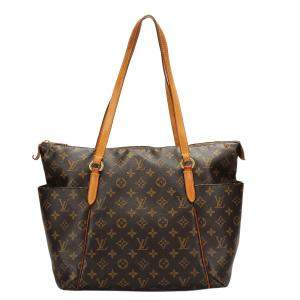 Louis Vuitton Brown Monogram Canvas Totally MM Tote Bag