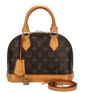 Louis Vuitton Monogram Canvas Alma BB Bag