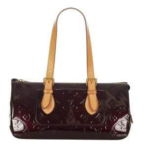 Louis Vuitton Purple Vernis Leather Rosewood Shoulder Bag