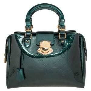 Louis Vuitton Blue Nuit Monogram Vernis Patent Leather Melrose Avenue Bag