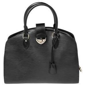 Louis Vuitton Black Epi Leather Pont Neuf GM Bag