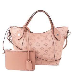 Louis Vuitton Pink Calf Leather Mahina Hina PM Shoulder Bag