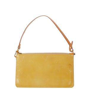 Louis Vuitton Yellow Monogram Vernis Lexington Pochette Bag