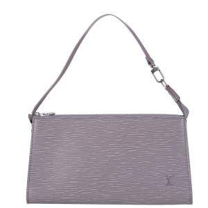Louis Vuitton Purple Epi Leather Pochette Accessoires Bag