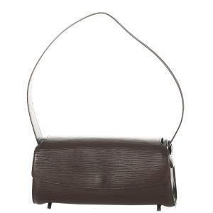 Louis Vuitton Brown Epi Leather Nocturne PM Bag