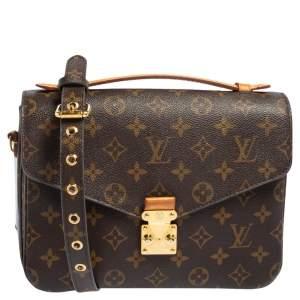 Louis Vuitton Monogram Canvas Metis Pochette Bag