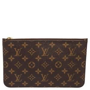Louis Vuitton Monogram Canvas Neverfull Pochette