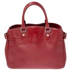 Louis Vuitton Rubis Epi Leather Passy PM Bag