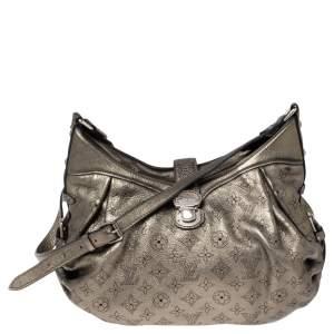 Louis Vuitton Metallic Monogram Mahina Leather Solar PM Bag