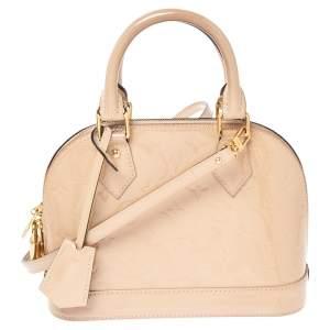 Louis Vuitton Dune Monogram Vernis Alma BB Bag