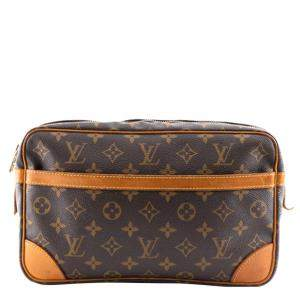 Louis Vuitton Monogram Canvas Clutch Bag