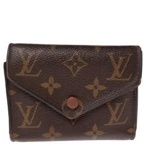 Louis Vuitton Monogram Canvas Victorine Wallet