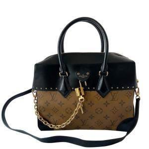 Louis Vuitton Monogram Canvas Leather City Malle Reverse Bag
