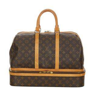Louis Vuitton Monogram Canvas Sac Sport Bag