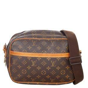 Louis Vuitton Brown Monogram Canvas Reporter PM Shoulder Bag