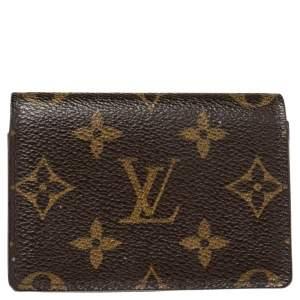 Louis Vuitton Monogram Canvas Business Card Holder
