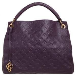 Louis Vuitton Aube Monogram Empreinte Leather Artsy MM Bag
