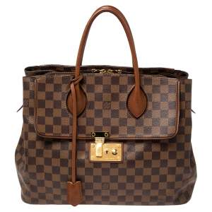 Louis Vuitton Damier Ebene Canvas Ascot Bag