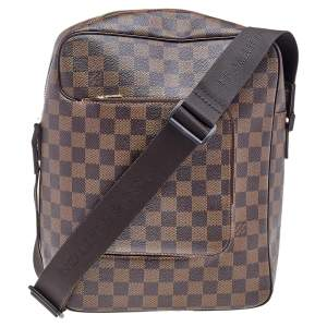 Louis Vuitton Damier Ebene Canvas Olav MM Messenger bag