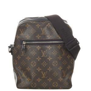 Louis Vuitton Brown Monogram Canvas Macassar Torres PM Shoulder Bag