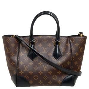 Louis Vuitton Noir Monogram Canvas Phenix PM Bag